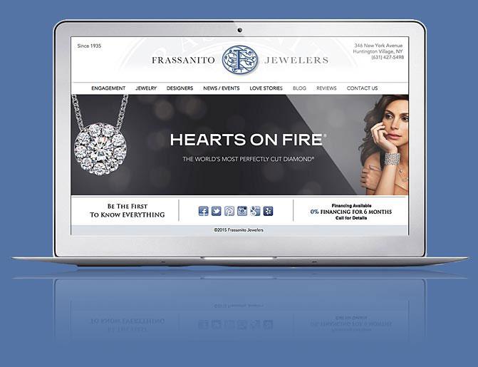 Frassanito Website Magento Design