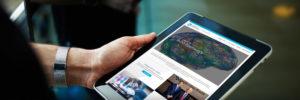 Medical Website Development for Tablets