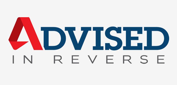 Advised in Reverse Logo