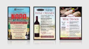 Restaurant Digital Screen Design