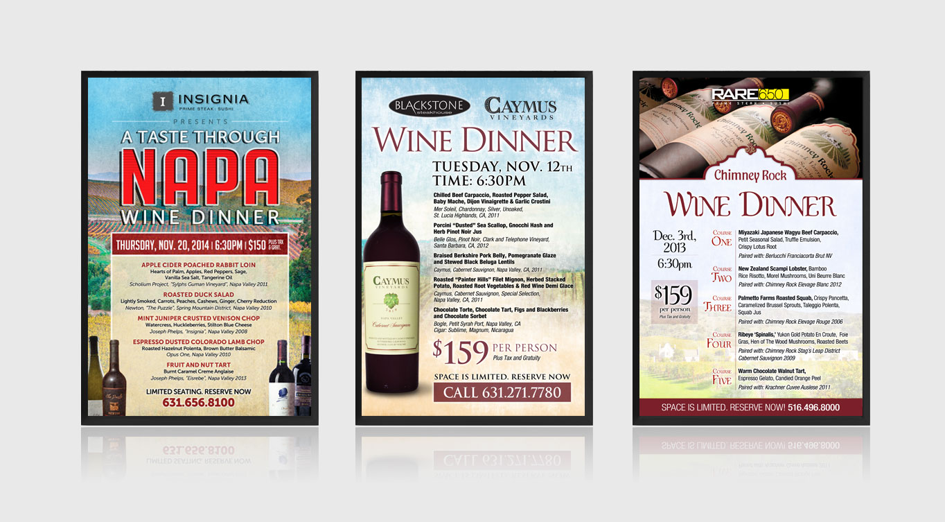 Restaurant Digital Screen Design