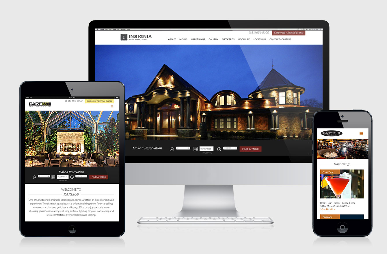 Restaurant Responsive Website Design