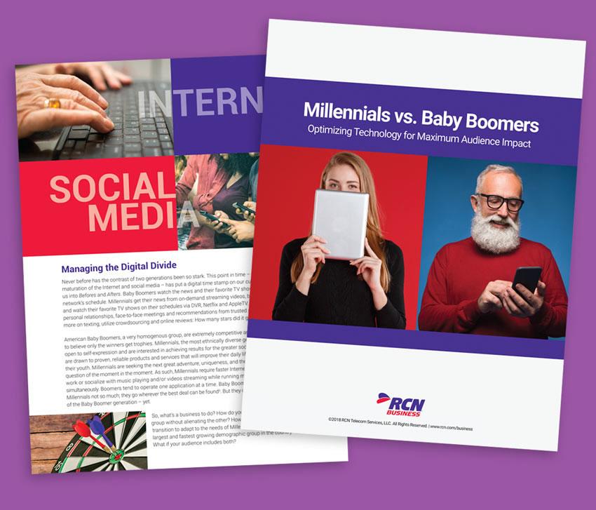 Telecom Brochures Design