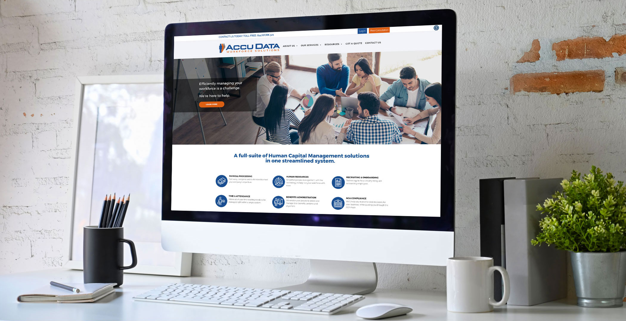 Workforce Website Design