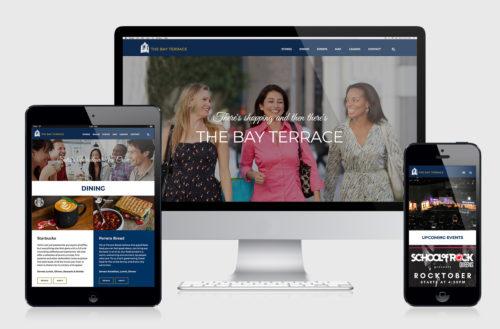 Shopping Center Responsive Website Design